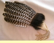 "Lakota Dance Fan 17"" -Black Bear Hair"