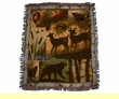 "Southwestern Throw Blanket 50""x60"" -Mountain Lodge  (st12)"