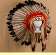Native American Headdresses, War Bonnets, Bustles & Regalia