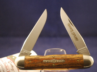 Tidioute Cutlery Exotic Mexican Bocote Muskrat, Non-Serialized
