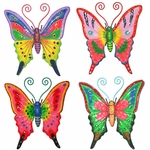 Butterfly Wall Decorations (Set of 4)