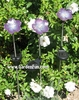 Solar Powered Garden Violets (Set of 3)