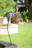 "Metal Crane Bird - 32"" Upright"