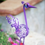 "27"" Small Filigree Bird - Purple"
