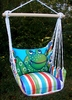 Fine & Dandy Blue Frog Hammock Chair Swing Set