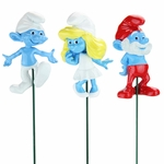 Smurf Plant Stakes (Set of 3)