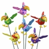 Silly Bird Garden Stakes (Set of 6)