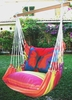 Bon Temps Red Butterfly Hammock Chair Swing Set