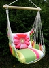 Fresh Lime Gerbera Daisy Hammock Chair Swing Set