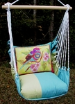 Meadow Mist Ladybird Hammock Chair Swing Set