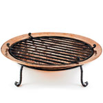Polished Copper Fire Pit