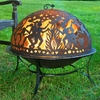 Medium Fire Pit w/ Full Moon Party FireDome
