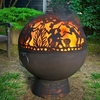 "26"" Fire Bowl w/ Full Moon Party FireDome"