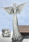 "14"" Praying Angel Candleholder"