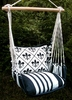 White French Quarter Hammock Chair Swing Set