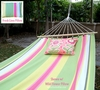 Fresh Lime Stripe Fabric Hammock