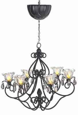 Large Hannah Series Chandelier - Black - Click to enlarge