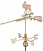 Moose Hunting Weathervane