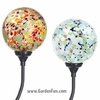 Speckled Solar Garden Globes (Set of 2)