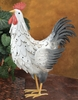 White Rooster Decor LG