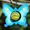 Blue Butterfly Art Glow Catcher