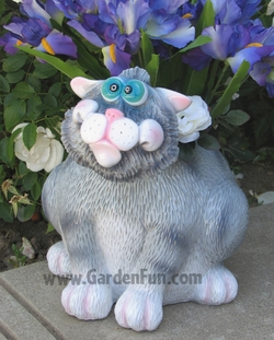Large Cat Phatzo Planter - Click to enlarge