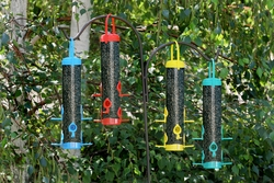 Multicolor Thistle Bird Feeder (Set of 2) - Click to enlarge