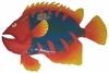 Large Tiger Big Eye Fish Decor