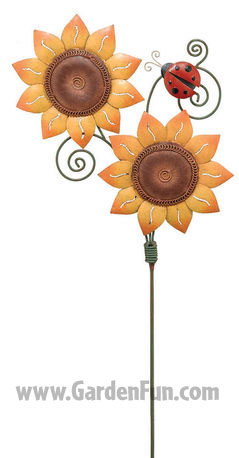 Sunflower Jiggle Stake - Click to enlarge