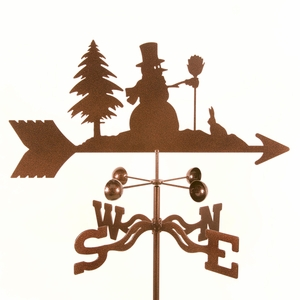 Snowman Weathervane - Click to enlarge
