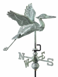 Blue Heron Weathervane - Click to enlarge