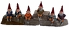 "6"" Shelf Sitter Gnomes (Set of 6)"