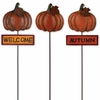 Fall Pumpkin Picks (Set of 3)