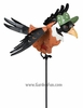 Crow Lady Jiggle Wings Garden Stake