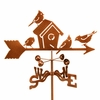 Birdhouse Weathervane