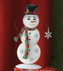 Metal Snowman Decoration - Click to enlarge
