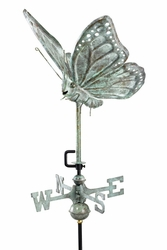 Garden Butterfly Weathervane - Click to enlarge