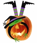 Pumpkin Kit - Halloween Witch