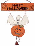 Happy Halloween Door Hanger