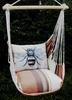 Cappuccino Bumblebee Hammock Chair Swing Set