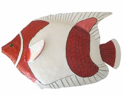 Red Clown Fish Wall Decor - Click to enlarge