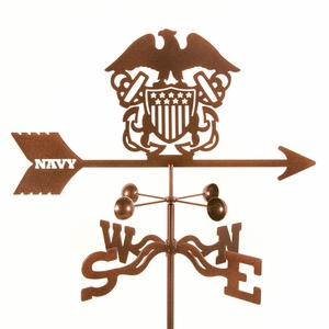 Navy Weathervane - Click to enlarge
