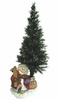 "36"" Fiber Optic Christmas Tree Decoration - Frosty Snowman"