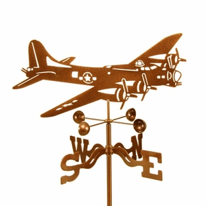 B-17 Bomber Weathervane - Click to enlarge