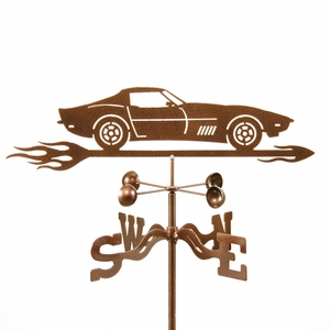 Corvette C3 Weathervane - Click to enlarge