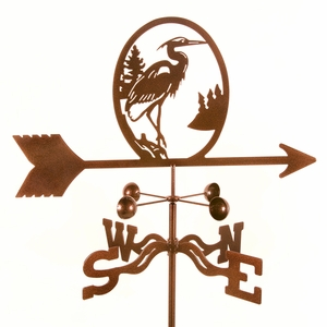 Heron Weathervane - Click to enlarge