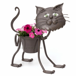 The Stray Cat Planter - Click to enlarge