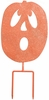 Spooked Pumpkin Stake / Sign (Set of 3)