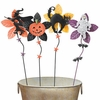 Halloween Metal Flowers (Set of 4)