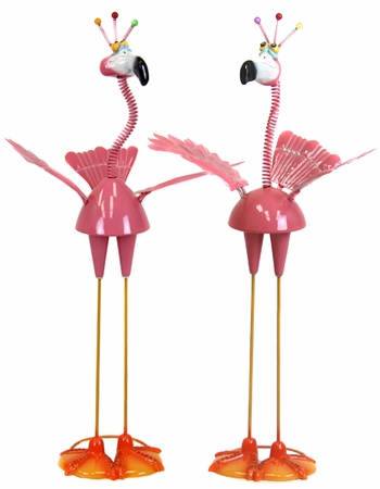 GeekyBeek Pink Flamingo Flockers - Click to enlarge